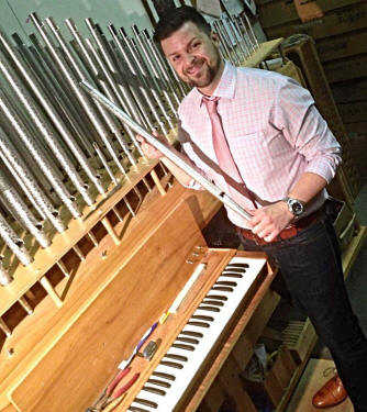 J. Anthony Nichols, Cornel Zimmer Organ Builders